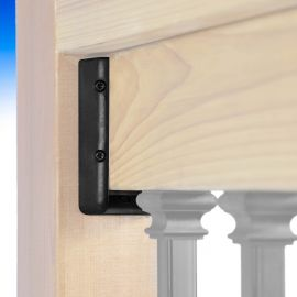 Level/Stair Nylon Rail Bracket by Fortress - Level Installation