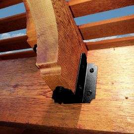 Laredo Sunset Joist Hanger by OZCO - Flush