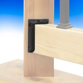 Multi Degree Rail Connector by Deckorators-Black
