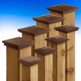 Select the profile of IPE Poscaps by Acorn Deck Products that suits the style of your space.
