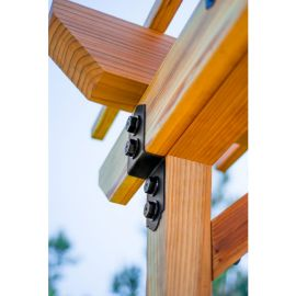 Outdoor Accents Mission Collection Joist Tie by Simpson Strong-Tie (2x4)
