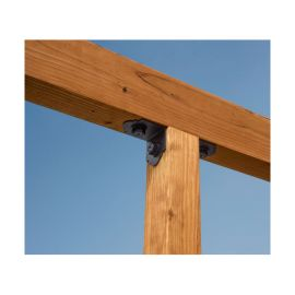 Outdoor Accents Mission Collection 90 Degree Angle by Simpson Strong-Tie - 4 in