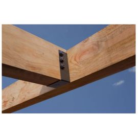 Outdoor Accents Heavy Joist Hanger by Simpson Strong-Tie - installed