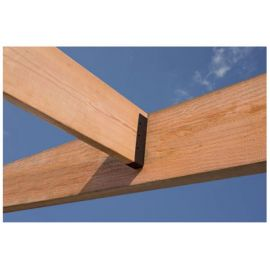 Outdoor Accents Light Joist Hanger by Simpson Strong-Tie - installed