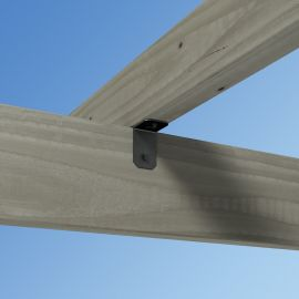 Create strong rafter to beam connections for your DIY pergola, pavilions, and arbors with the Avant 90 Degree Rafter Clip.