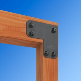 Support 90-degree corner connections with the Avant L Strap Outdoor Accent from Simpson Strong-Tie.
