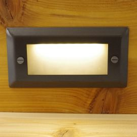 Pyxis Glass Face Plate by Aurora Deck Lighting