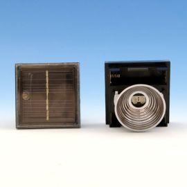 Replacement Black Solar Unit By Aurora Deck Lighting