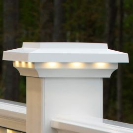 LED Lighted Island Cap by AZEK - White