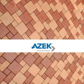 Mix different colors and shapes of AZEK Resurfacing Pavers to make an outdoor style all your own!