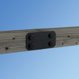 Firmly connect your pergola or pavilion beams with the Avant Flat Strap from Simpson Strong-Tie.