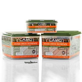 Camo ProTech Hidden Deck Fasteners come in 3 size options