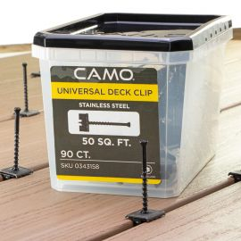 Camo Hidden Deck Clips and Fasteners-90