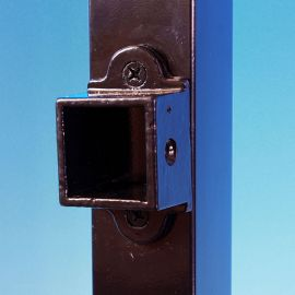 FE26 Collar Brackets by Fortress - Gloss Black