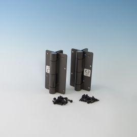 Aluminum Adjustable Self-Closing Gate Hinge - Bronze