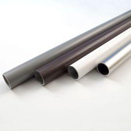 Premium Finish Round Aluminum Baluster by DecKorators-Matte White-32 in-10 Pack