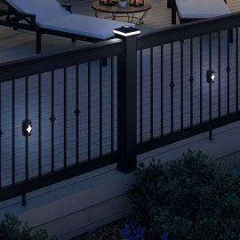 Solar Baluster Light by Deckorators