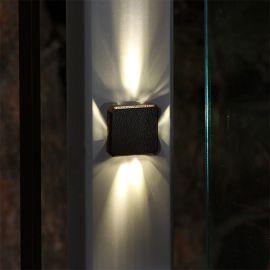Elite LED Post Light by Dekor - Mounted vertically