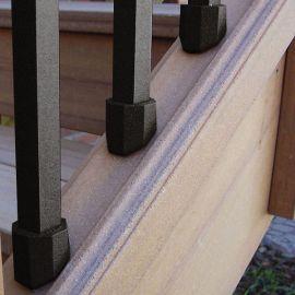 Dekor End Cap Square Baluster Stair Connectors