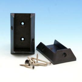 Rail Bracket Kit for DecKorators Aluminum Rail System - Black