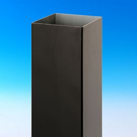 Post Sleeve for DecKorators Aluminum Rail System-Black-40-1/4 Inch