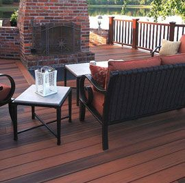 For unmatched strength and a wide array of beautiful finishes, make the most out of your backyard project with the MVP Grooved Edge Deck Boards from DuraLife.