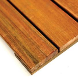 Ipe Deck Tile - Smooth