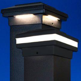 Prestige EFFEX Flat Top LED Post Cap Light