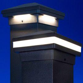 Prestige EFFEX Pyramid LED Post Cap Light