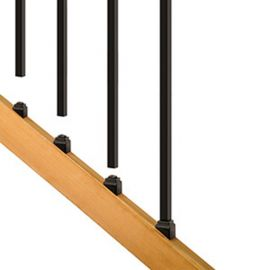 Square Estate Stair Baluster Connector Kits by Deckorators