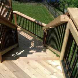 Aluminum Insert Panel for Stairs by Evolve Rail System