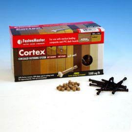 Cortex Concealed Fastening System for Azek Decking