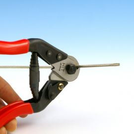 Trim your 1/8 Inch stainless steel Feeney CableRail quickly and get clean cuts with the CableRail Cable Cutter for 1/8 Inch Cable by Feeney.