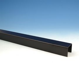 FE26 Iron Flat Accent Top Rail for Vertical Cable Railing Panel by Fortress