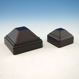FE26 Iron Pressed Dome Post Cap for Vertical Cable Railing Panel by Fortress