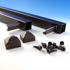 FE26 Gate Uprights by Fortress - Antique Bronze
