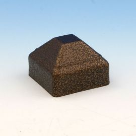 FE26 Pressed Dome Post Cap by Fortress - Antique Bronze
