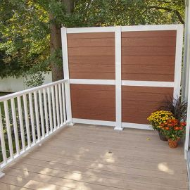 Create a gorgeous accent wall in your space quickly and easily with the HideAway Privacy Rail Post from RDI.