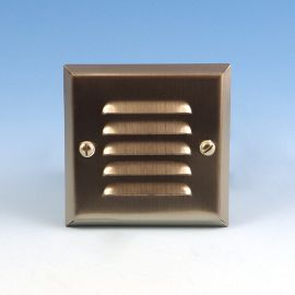 Highpoint Yellowstone - Recessed Step Light - Brushed Stainless