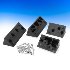 Lite 10 Angle Adapters by InvisiRail - Black 45