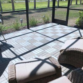 Westminster Gray UltraShield Deck Tile by NewTechWood