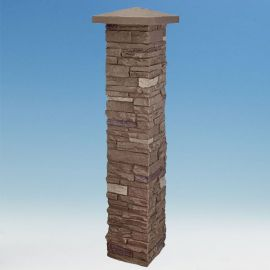 SlateStone Post Cover by NextStone - Brunswick Brown