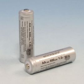 600 mAh Nicad Rechargeable Battery for use with most solar lighting.