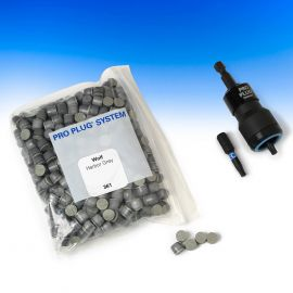 Plugs for Wolf Trim and Decking Pro Plug System by Starborn - package contents