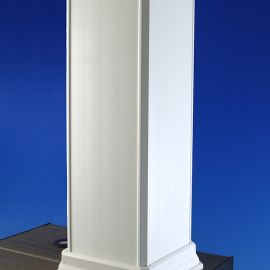 TimberTech RadianceRail CableRail Post Cover (White)