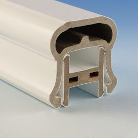 RadianceRail - Top Rail with Support Rail (White)