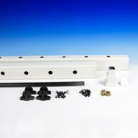 Select Level Rail Kit by Trex - Classic White (Package Contents)
