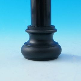Round Shoe Connectors for Fortress Iron Balusters - Level