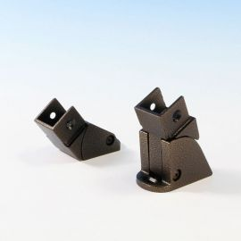 FE26 Simplified Stair Bracket by Fortress - Antique Bronze