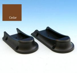 Universal Rail Connectors-Stair-Black with Cedar Color Option